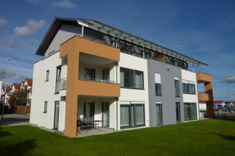 Innen- und Außenputzarbeiten mit Farbgestaltung
